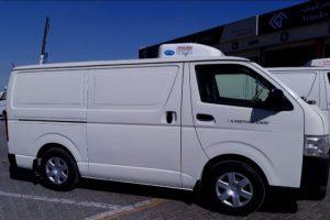 Chiller van rental Services in Dubai