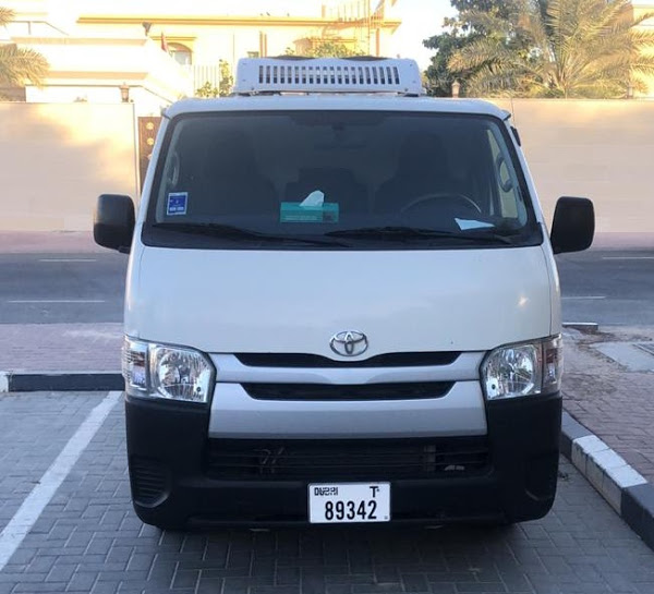 Chiller Van in Dubai